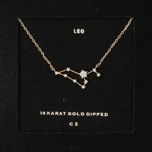 LEO | Constellation Zodiac Dainty Necklace